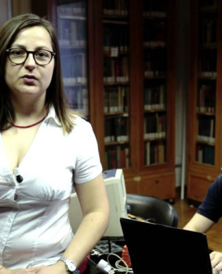 Alessandra e Eduardo, fondatori di FeelStep