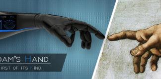 Adam's Hand - Copertina