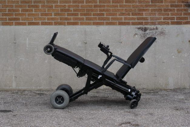 Frequentando un utente in sedia a rotelle