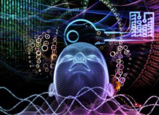 Concept image per l'interfaccia cervello computer