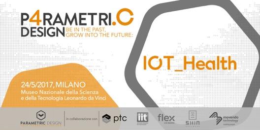 Logo del Parametric Design IoT Health 24 maggio