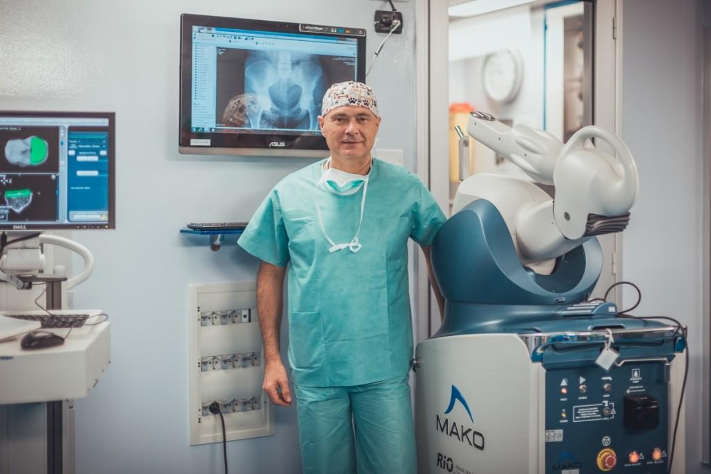 Robot Mako alla Clinica San Francesco
