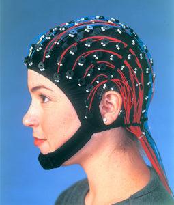 Esempio di cuffia utilizzata per acquisire il segnale elettroencefalografico