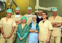 Doppio intervento di chirurgia robotica cardiaca e toracica a Siena
