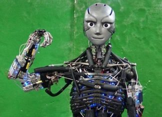 Dal Giappone il robot umanoide che si allena e suda proprio come noi