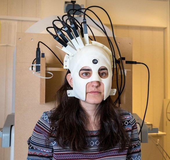 Scanner a casco per Magnetoencefalografia