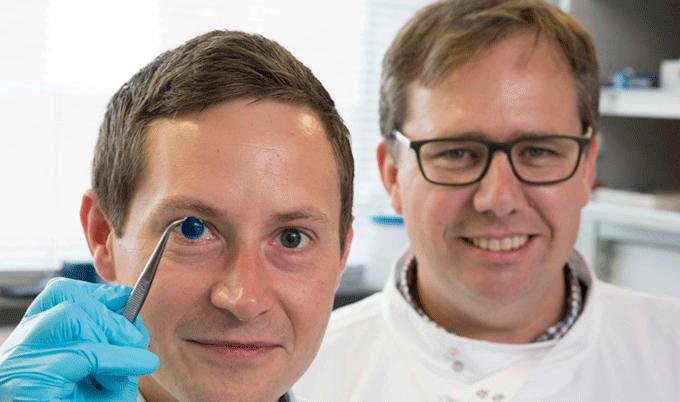 Realizzata la prima cornea umana stampata in 3D