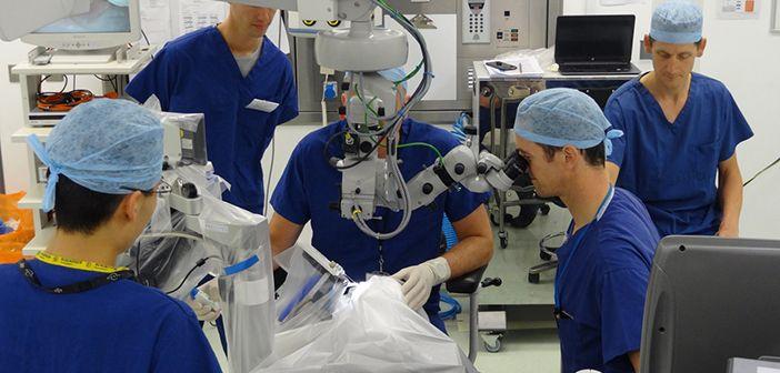 Chirurgia intraoculare