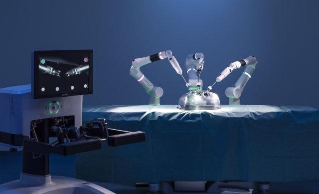 Versius il robot chirurgico più piccolo al mondo