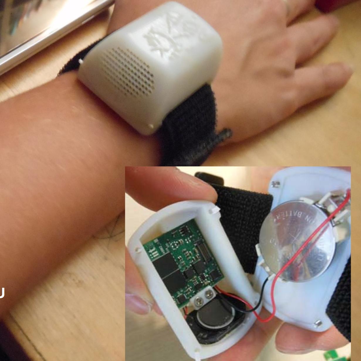 arriva ABBI il braccialetto spazio-sensoriale per bambini non vedenti