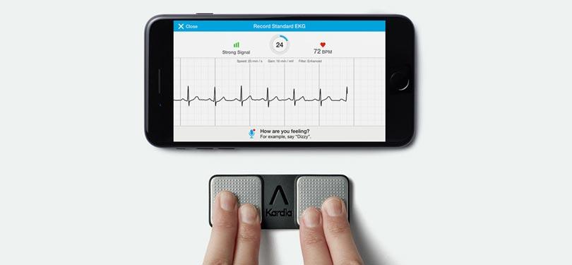 Trasformare lo smartphone in un elettrocardiografo? Puoi farlo con Kardia