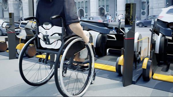 Moby: nasce il primo car-sharing per disabili con sedia a rotelle