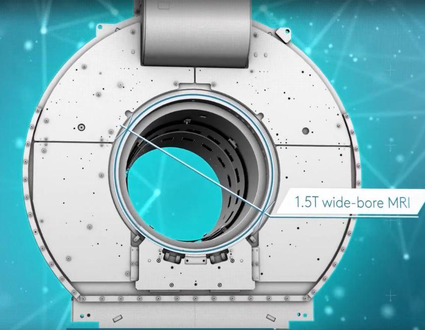 Campo magnetico 1.5T Elekta unit