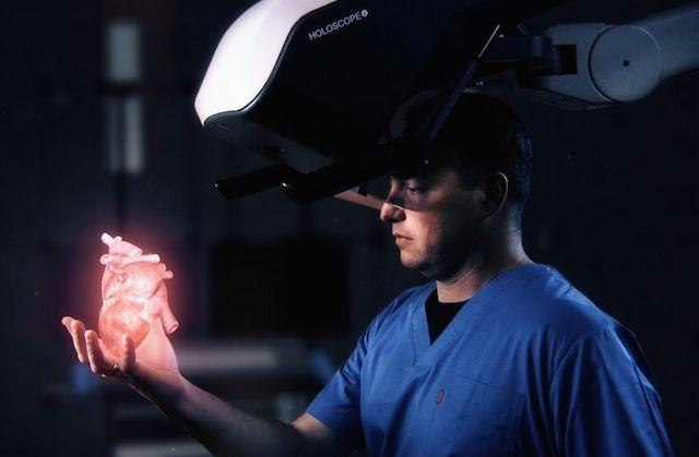 ologrammi medicina tumore cuore