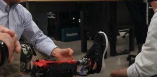 gamba protesi smart passo università utah