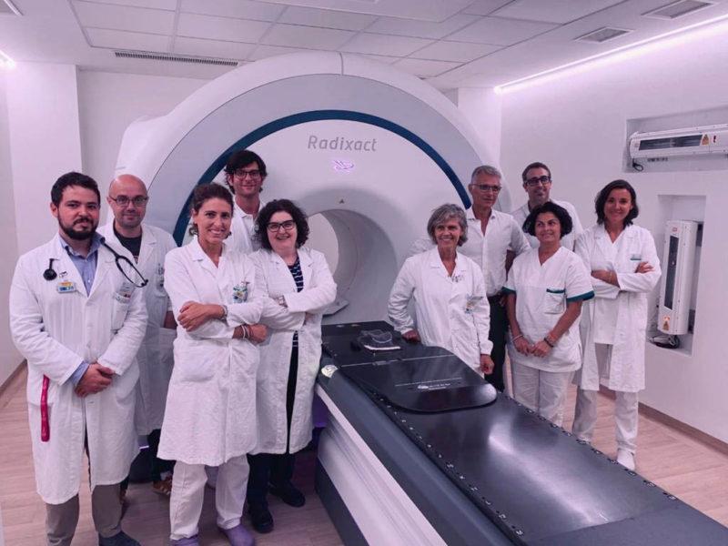 Alle Molinette di torino il primo sistema di tomoterapia elicoidale Radixact X9