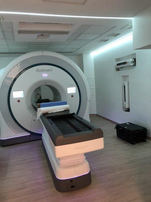 Il sistema Radixact X9 tomoterapia elicoidale alle Molinette di Torino
