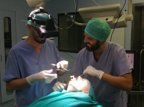 vostars visore realtà aumentata ar bologna pisa intervento primo al mondo