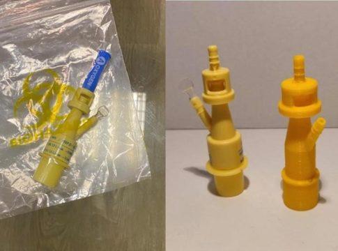 Coronavirus, a Brescia valvole per la rianimazione stampate in 3D
