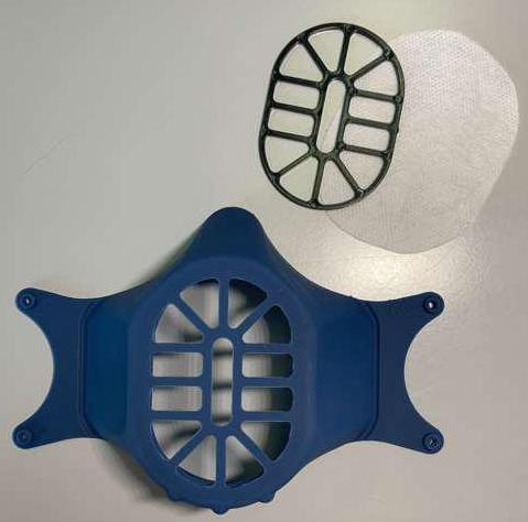 mascherina sterilizzabile microonde covid