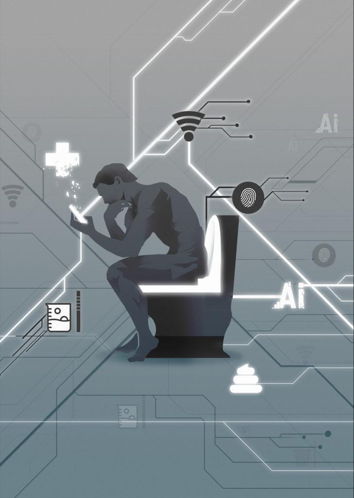 Smart Toilet: un alleato per la prevenzione. Credits: Seonghyeon Kim