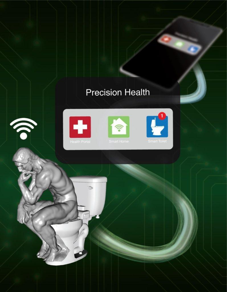 Smart Toilet: un alleato per la prevenzione. Credits: James Strommer