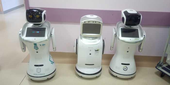 Coronavirus, a Varese 7 robot aiutano i medici a monitorare i pazienti
