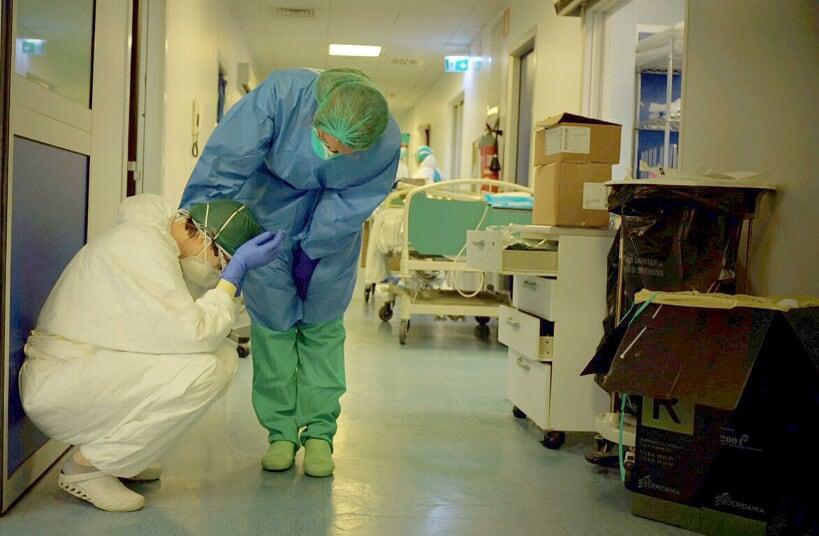 staff sanitario coronavirus italia