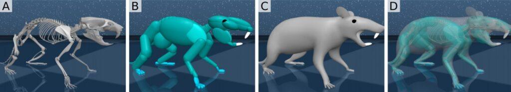 Studiare le neuroscienze con un topo virtuale. Credits: Deep Mind e Harvard University