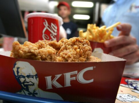 kfc pollo nuggets stampa 3d
