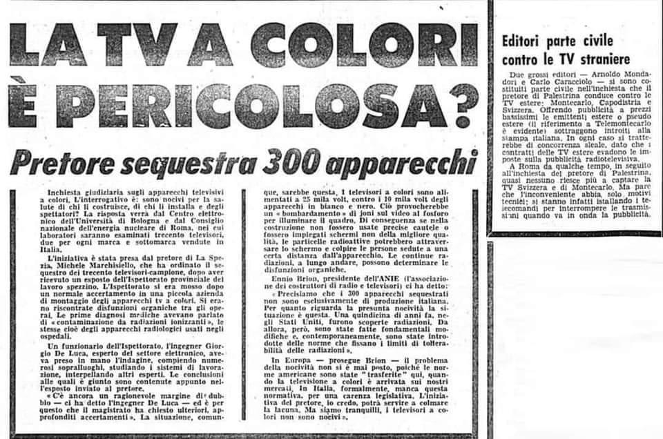 """""""Il 5G non presenta rischi particolari per la salute"""", le parole del primo ricercatore dell'Iss. Credits: Corriere della Sera"""