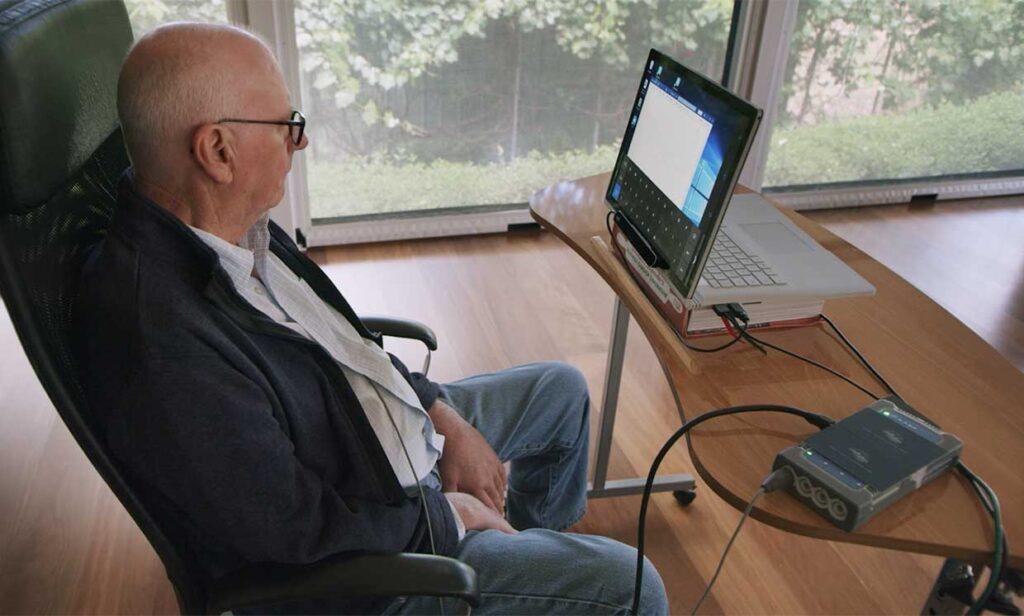 È stata impiantata nell'uomo la prima interfaccia neurale endovascolare. Credits: Synchron