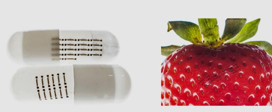 sensori elettronici commestibili