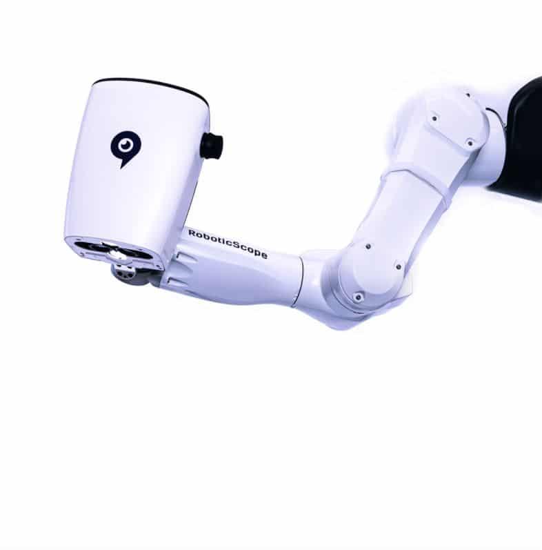 robotic scope microscopio operazione torino hands free