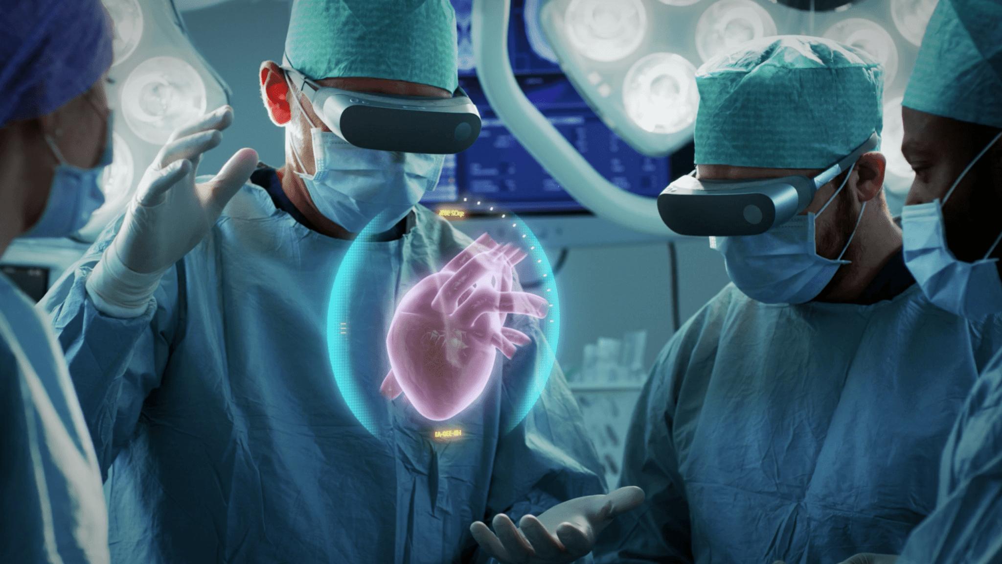 La realtà aumentata (AR) utilizzata nella chirurgia sostitutiva del ginocchio. Credits: Gorodenkoff / shutterstock.com
