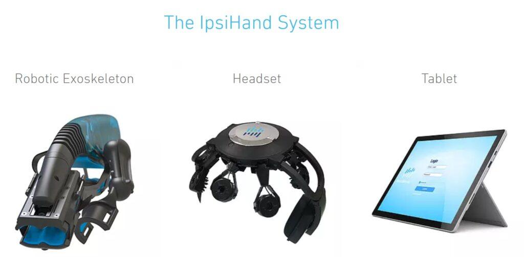 La prima interfaccia cervello-computer (BCI) per la riabilitazione post ictus. Credits: Neurolutions, Inc.