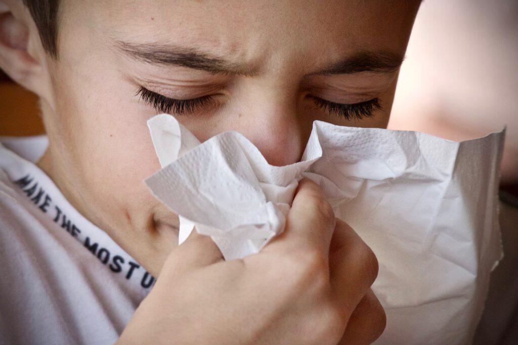 russare congestione nasale