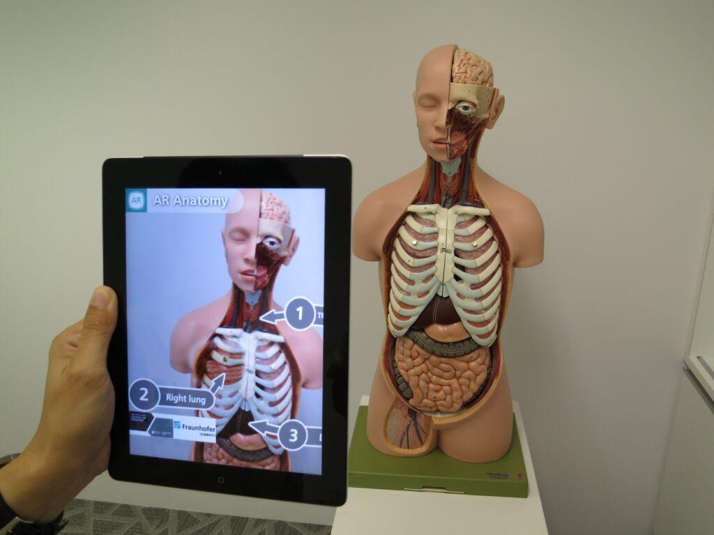 ProjectDR realtà aumentata
